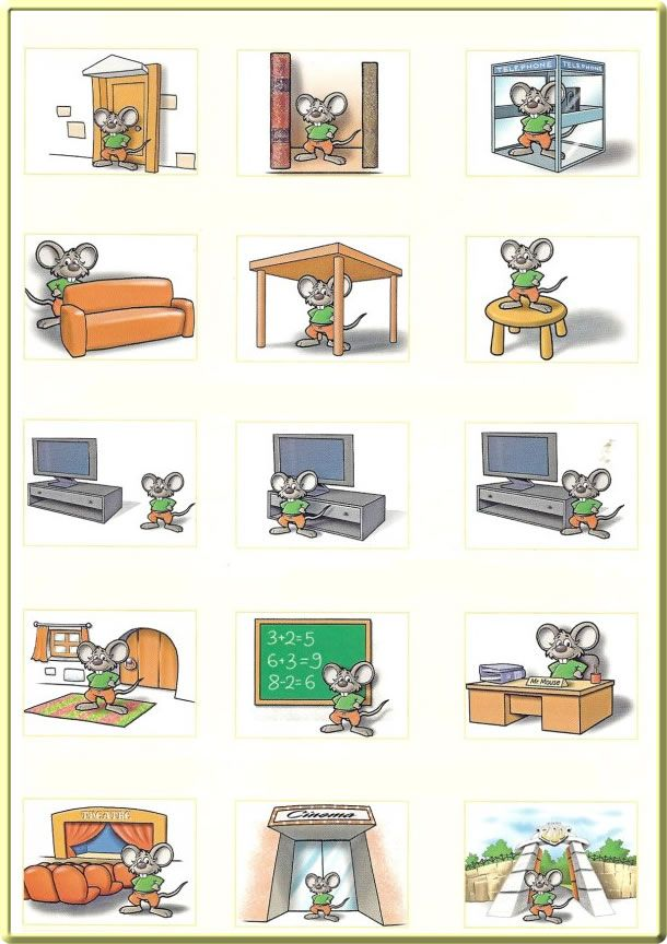 Prepositions Preposiciones Ingl 233 S Maestratrend
