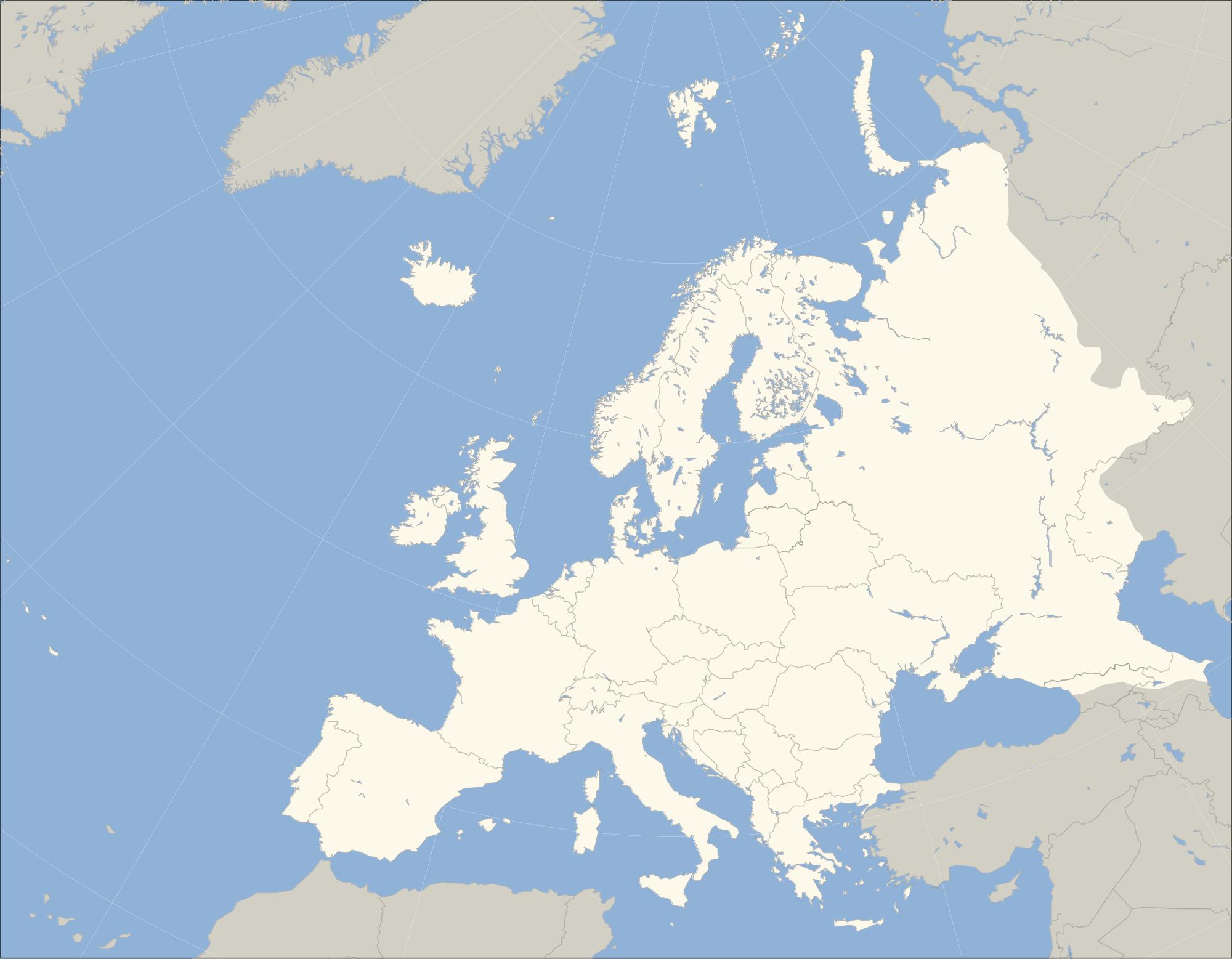 Mapa-Mudo-de-Europa