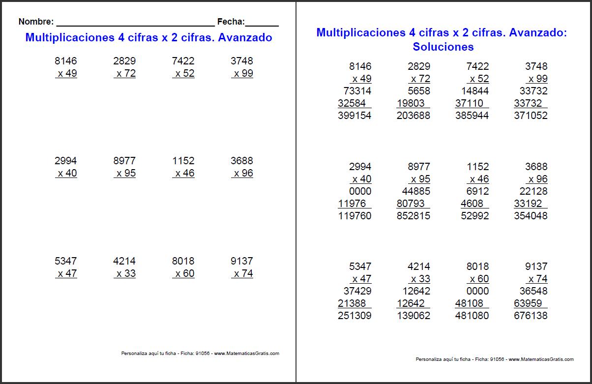ficha-multiplicaciones-dos-cifras-con-respuestas