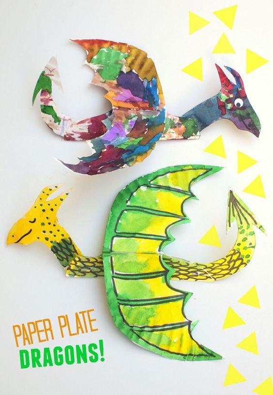 dragones plato